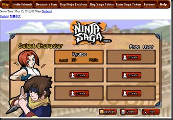Select Character...