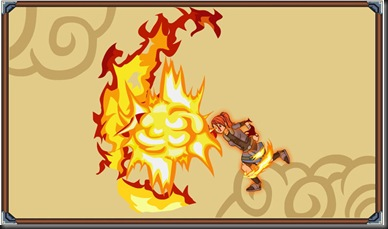 Raising Fire Explosion