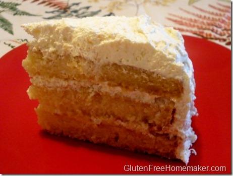 orange pineapple cake slice