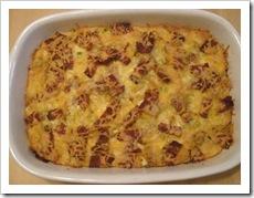 breakfast casserole dish