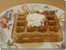 belgian waffle