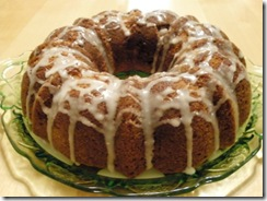 cinnamon bundt cake-whole