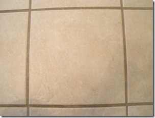dirty grout