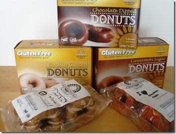Kinnikinnick Doughnuts