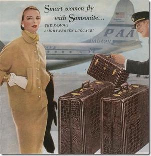 1953 Samsonite Ad