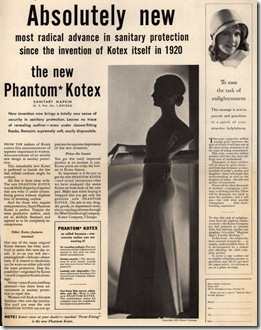 phantom kotex