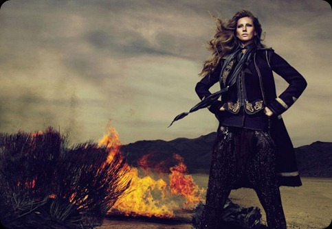 GiselleCavalliFall2010Campaign1