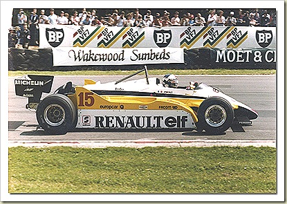 Renault RE30B F1 82