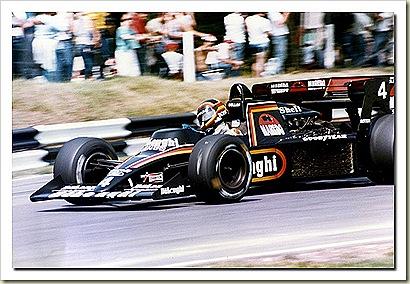 Stefan Bellof Tyrrel 012 F1 84