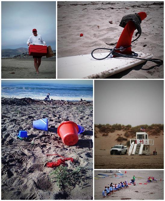 Large Beach Collage
