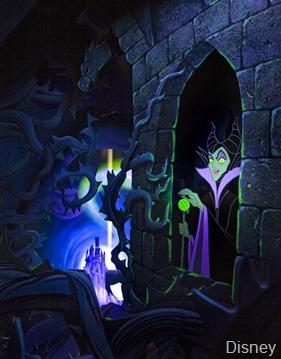 Sleeping Beauty Castle Diorama