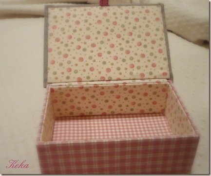 Como forrar una caja de madera con tela imagui - Forrar cajas de carton con telas ...