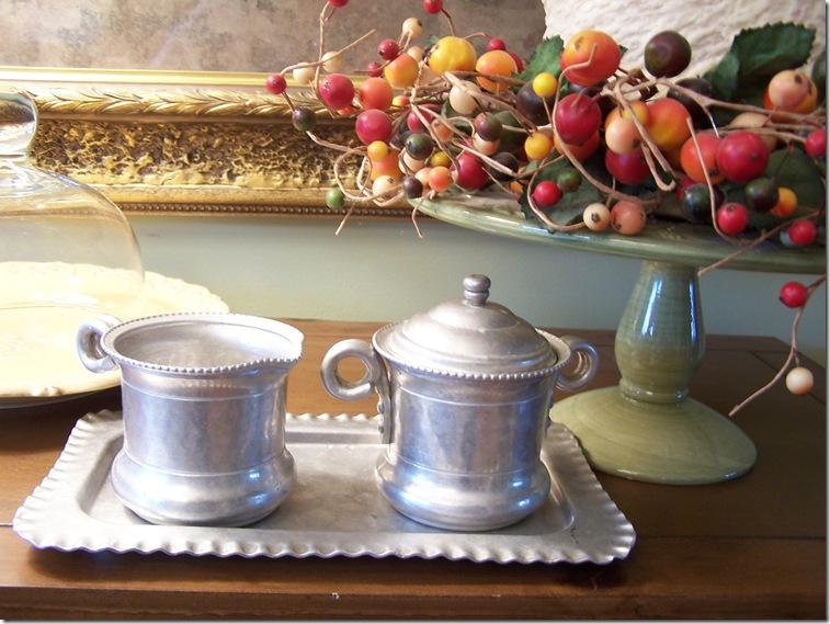 Strawberry Crepes and Sugar Creamer Set 012