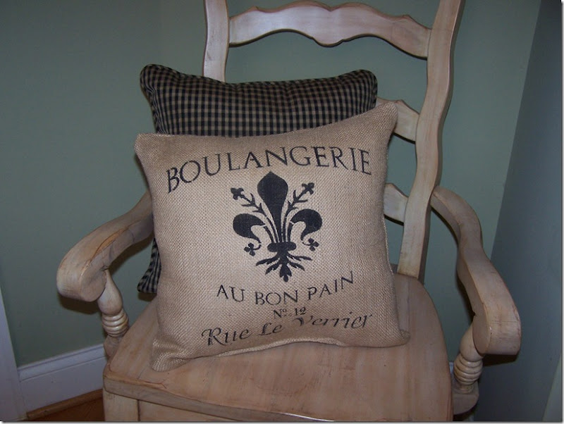 Boulangerie Stencil 001