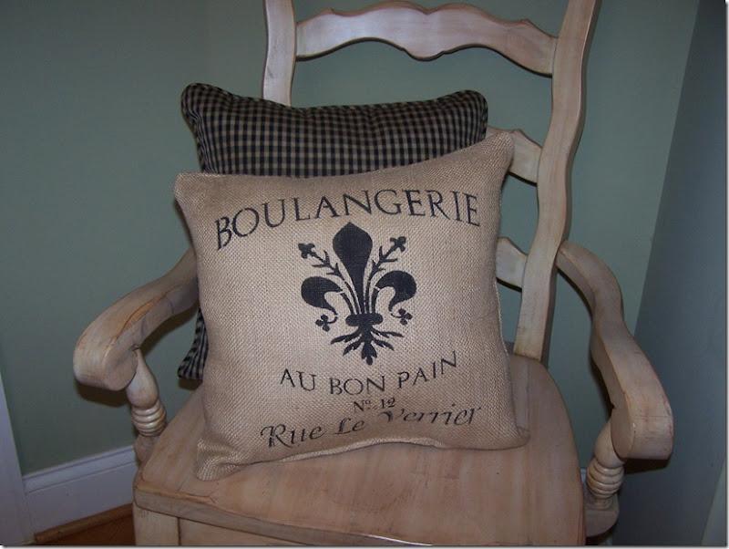 Boulangerie Stencil 001
