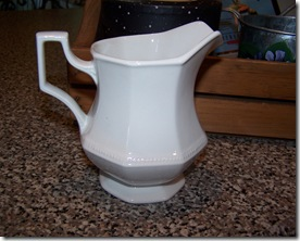 Goodwill Cream mini cream pitcher