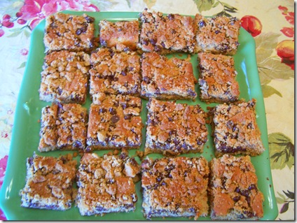Peanut butter streusel bars 013