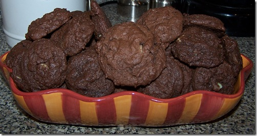 Mint Chocolate Delight Cookies 011