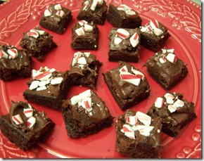 Peppermint Brownie Bites 004