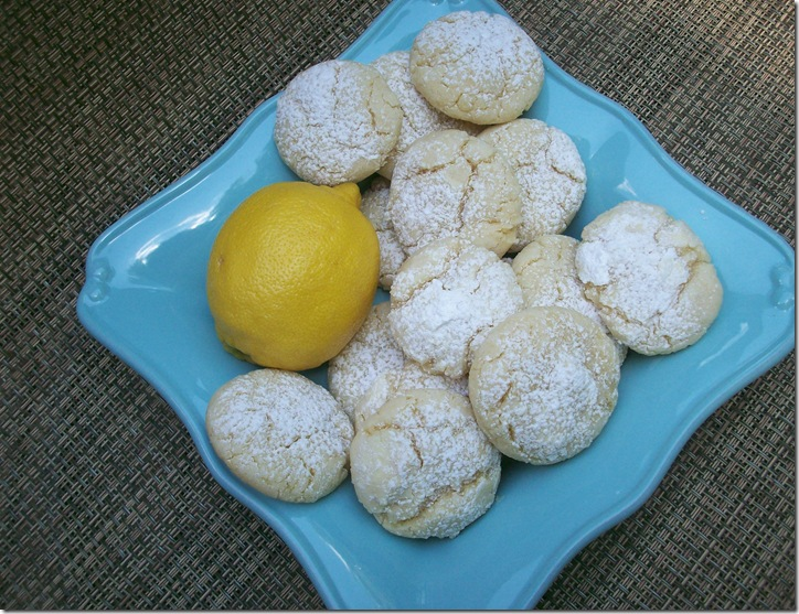 Lemon Crinkle Cookies 025
