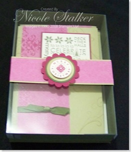 Project 7 - Card Box, 6 cards & envelopes