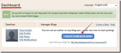 make blogger blogII