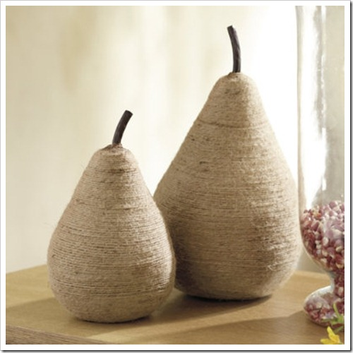 Jute Twine Pear- Ballard Designs
