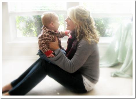 mommy & Brayden 7 months