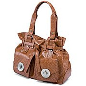 brown purse