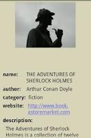 Screenshot of SHERLOCK HOLMES
