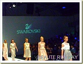 Swarovski at Audi Fashion Festival Jayson Brunsdon Dress 32