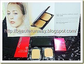 Shiseido sheer matifying compact 2