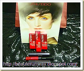 Shiseido perfect rouge tender sheer glow matt luminizing lip gloss
