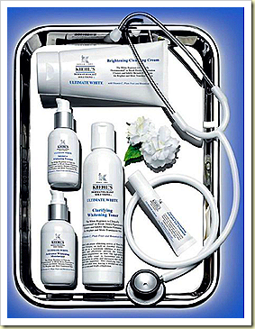 kiehl's utimate whitening set