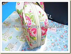 cath kidston carry case close up side view