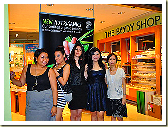 the body shop beaute runway and frens