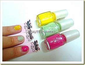 Majolica Majorca Glow & Quick  Nails