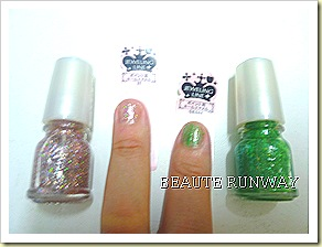 Majolica Majorca Jeweling Line Nails close up