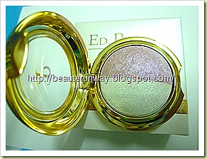 Ed pinaud eyeshadow magical top view