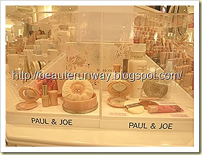 Paul & Joe Promotion Set at Takahimaya