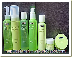 SANA Natural Resource Skincare Regimen