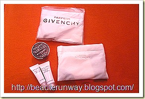 Givenchy Masque Noir, serum and moisturizer