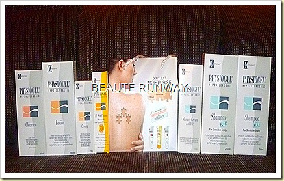 Physiogel skincare
