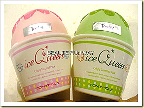 Tony Moly Crispy Green Tea and Tropical Pack