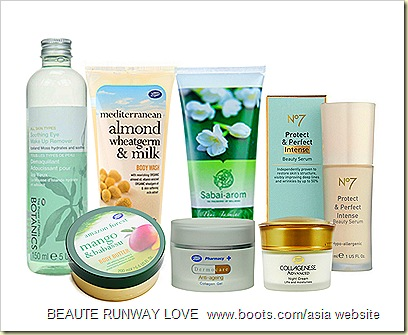 Beautiful COM/ASIA   BOOTS THAILAND 13TH ANNIVERSARY CELEBRATORY OFFERS ON BOOTS NO 7,  BOTANICS, DERMOCARE, COLLAGENESE, MEDITERRANEAN, AMAZON FOREST, SABAI AROM