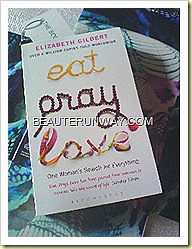 The Body Shop Dreams Unlimited parcel with Eat Pray Love book