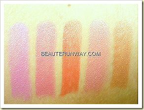 Hope Girl Lip Stick Swatches