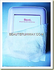 BioreCleansing Oil Facial Cotton Sheets used