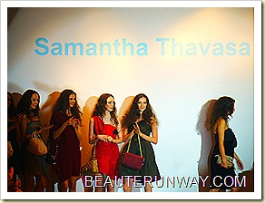 Samantha Thavasa Singapore Bag Launch