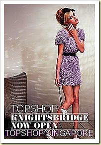 Topshop Knightsbridge Singapore